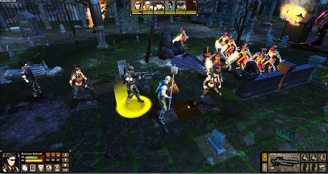 Screenshot from Graywalkers Purgatory