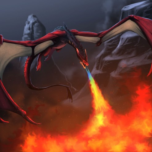 Meet the Scorchmane Dragon, one of the Legendary creatures in SolForge.