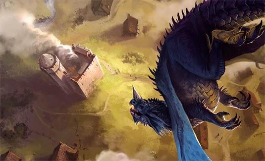 Blue Dragon in Greenest