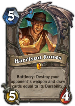 Harrison Jones Hearthstone