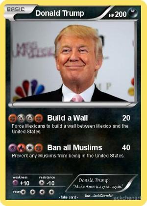 Trump Pokemon